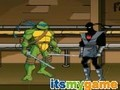 Loja Turtles Teenage Mutant Ninja. Rruga përballje . Luaj online